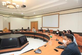 Rapat Koordinasi Rencana Pembangunan Pasar Tenguyun Tahap II