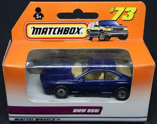MatchBox - 73 BMW 850i