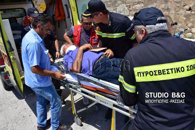 Τραυματισμός τουρίστα στον αρχαιολογικό χώρο των Μυκηνών