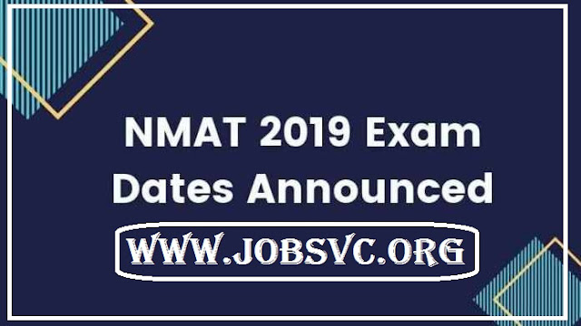 NMAT 2019 - Notification, Eligibility Criteria and Important Dates