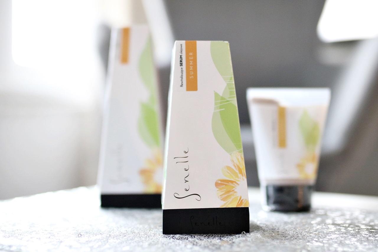 kosmetyki naturalne Senelle - rewitalizujące serum olejowe