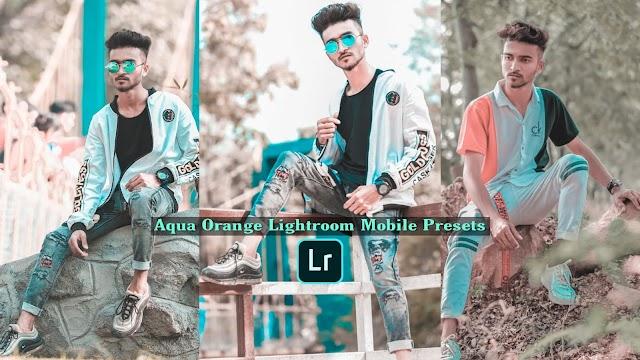Aqua Orange Lightroom Presets Free Download.