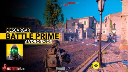 Mejor que COD MOBILE? Descargar Battle Prime para Android o iOS 🔥