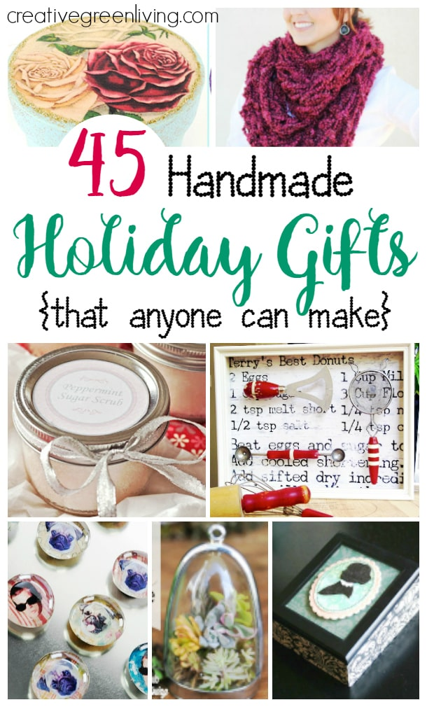 45 handmade gift ideas that anyone can make for mom!