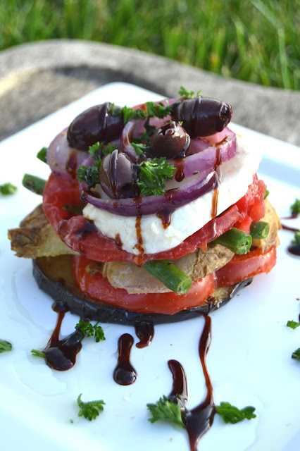 Roasted Vegetable Napoleon