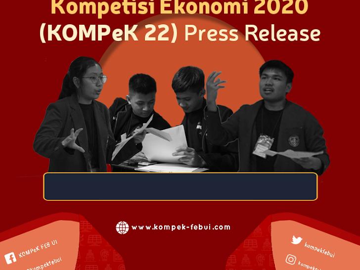 KOMPeK FEB UI 22nd Amplify - Kompetisi Ekonomi FEB Universitas Indonesia 2019