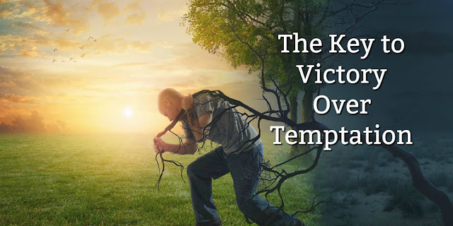 We're all faced with temptations. This 1-minute devotion gives Biblical advice for overcoming them. #BibleLoveNotes #Bible