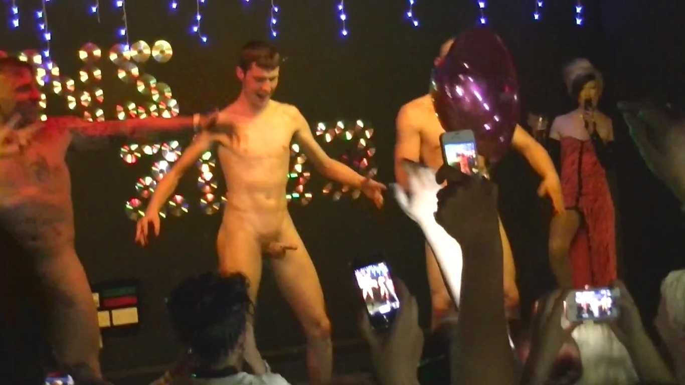 on Boys stage naked