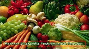 Makanan Sehat Untuk Penderita Penyakit Infeksi Paru Paru