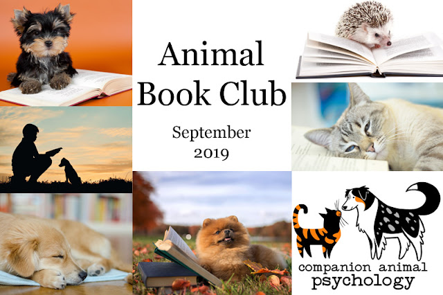 September's book for the Animal Book Club is Our Dogs, Ourselves