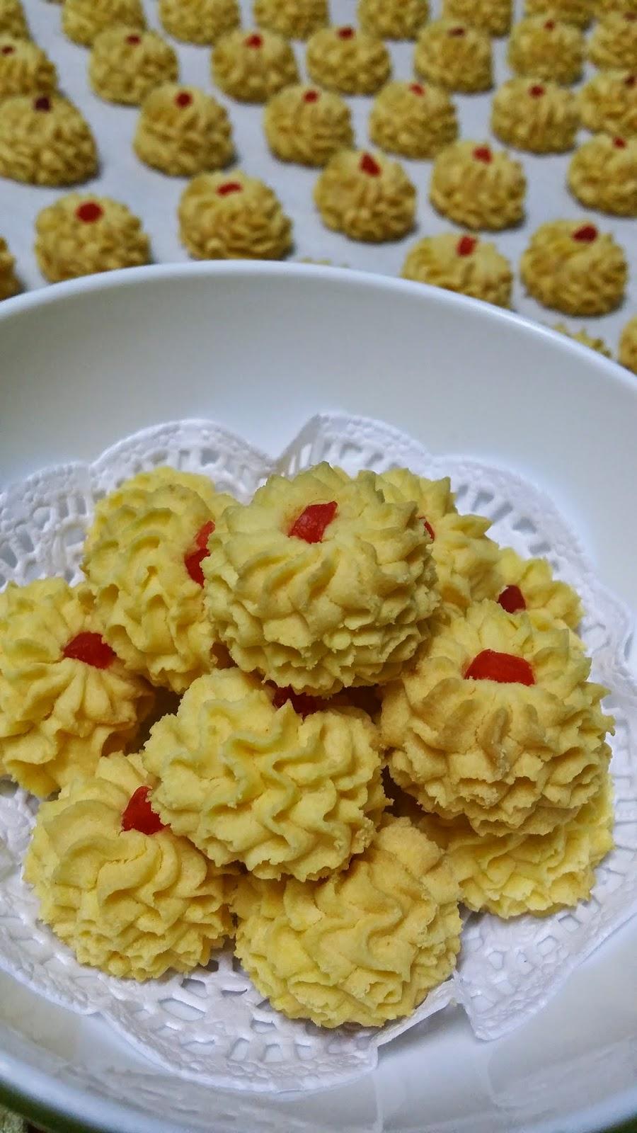 Biarlah Kak Noor Kekal Dengan Pattern Bunga Kecil Inilah Ideni Samperit Sajian Dapur Bonda