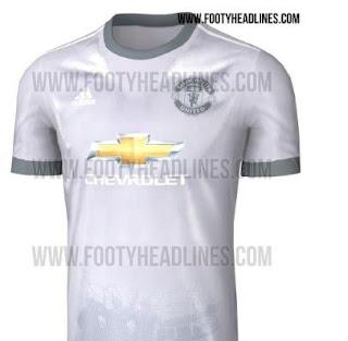Jersey Baru Ketiga Manchester United Berwarna Putih-Perak