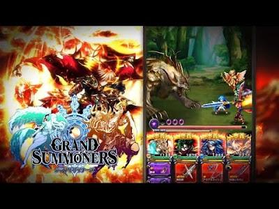Grand Summoners v 1.1.0 Apk Mod Increased Damage Terbaru