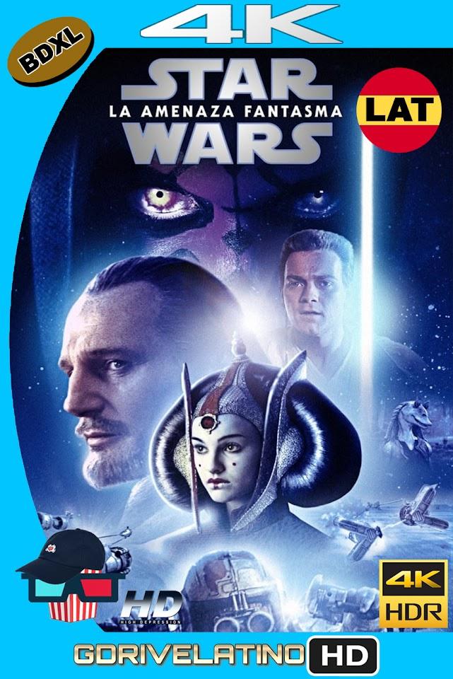 Star Wars : La Amenaza Fanstama (1999) BDXL 4K UHD HDR Latino-Ingles ISO
