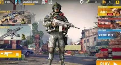 5.لعبة  Offline Commando 3D Sniper Shooter – New Games 2020