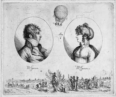 Monsieur and Madame Garnerin by Christoph Haller von Hallerstein, 1803