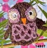 patron gratis buho amigurumi, free pattern amigurumi owl