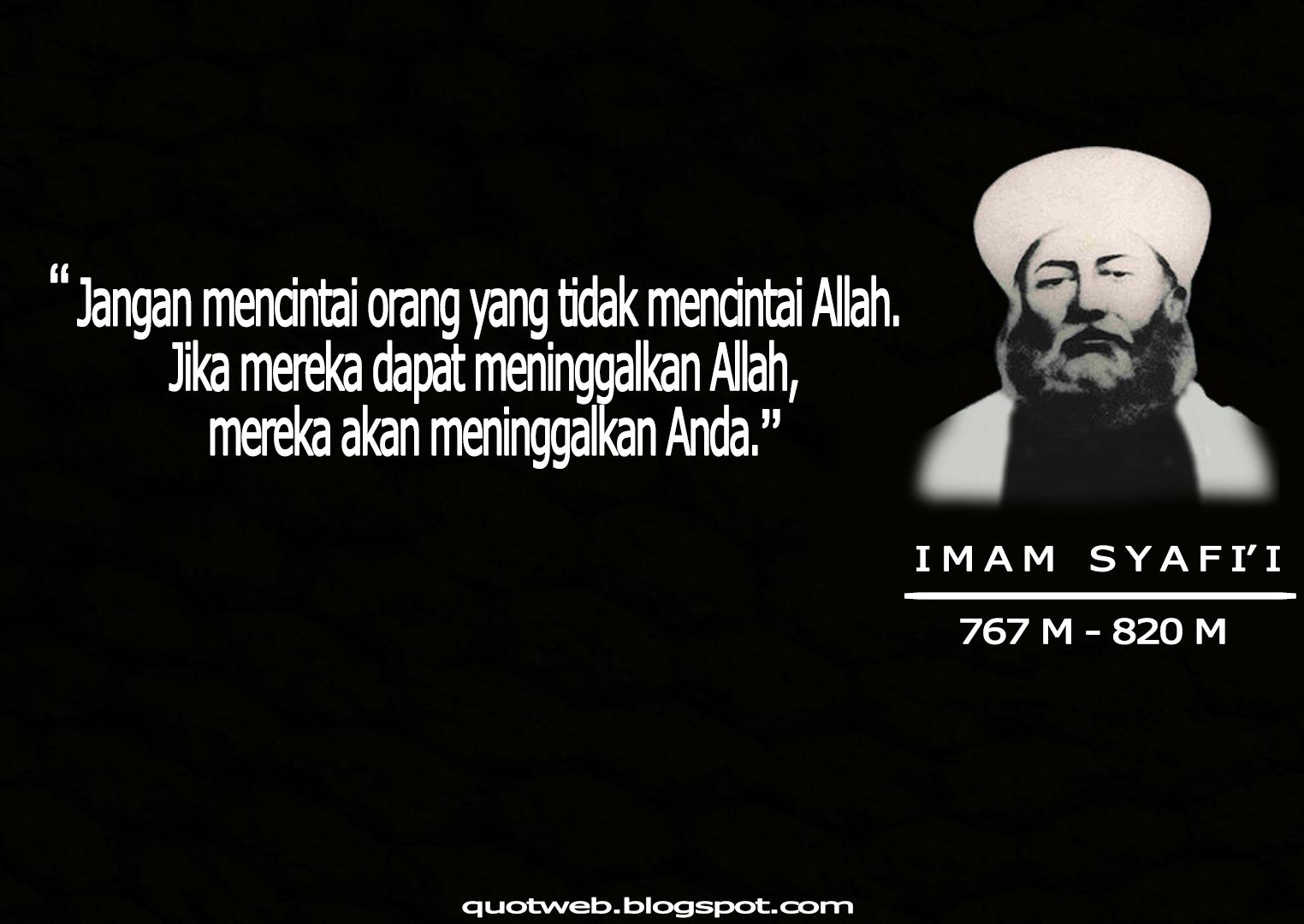 Kumpulan Kata Bijak Imam Syafi I Quotweb