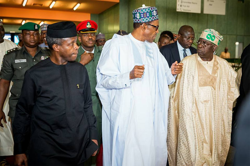 Buhari is on a mission, Tinubu says