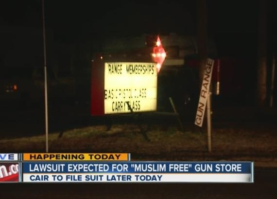 range muslim Some feel a target left at a burlington city, new jersey gas station saturday looks like a muslim.