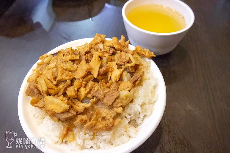 【嘉義美食】阿岸米糕。原文化路夜市老張鹹米糕
