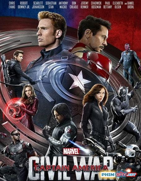 Captain America 3: Nội Chiến Siêu Anh Hùng - Captain America: Civil War (2016)