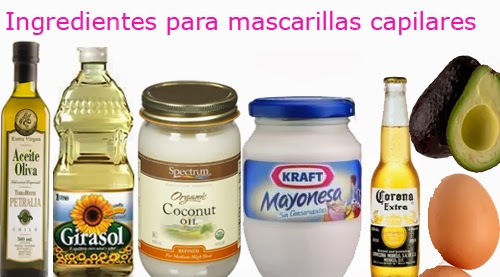ingredientes naturales para cabello sano