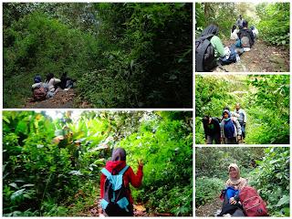 Menuju Puncak Gunung Kaba