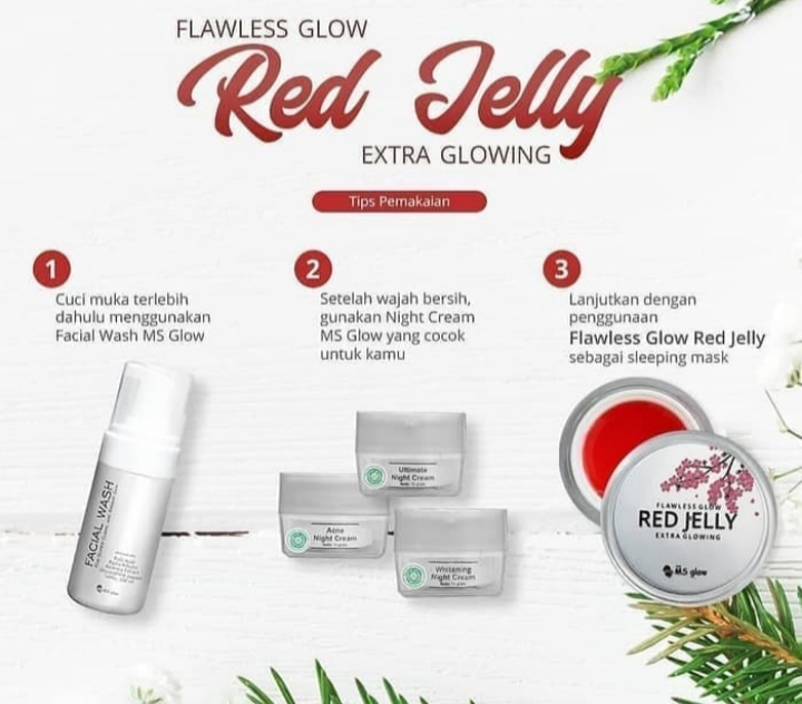 Ms glow red jelly