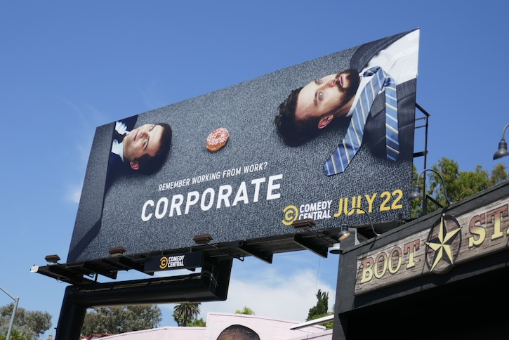 Corporate final season 3 billboard