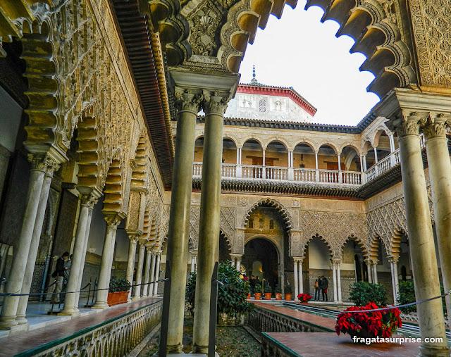 Real Alcázar de Sevilha. Espanha