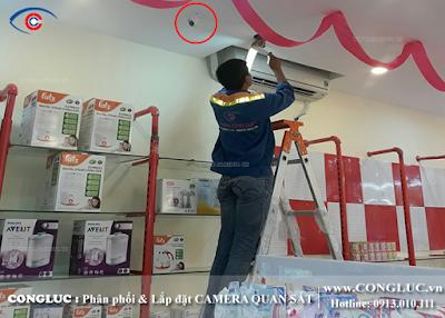 Lắp camera giám sát an ninh tại phường Hàng Kênh