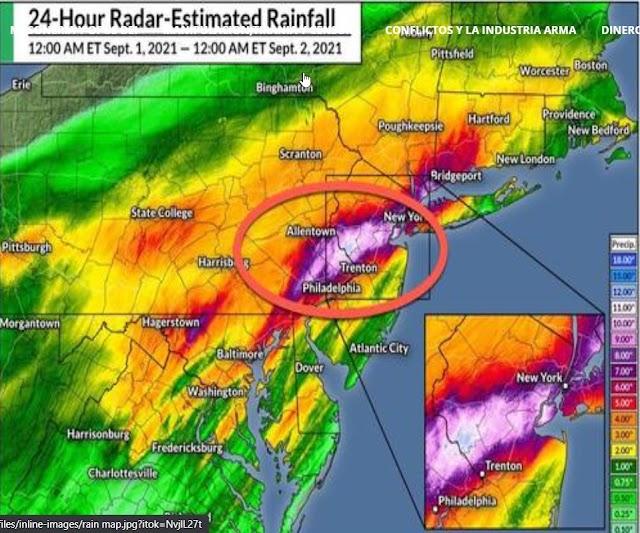 Inundaciones 'históricas' en el área de Nueva York tras la estela de Ida dejan al menos 14 muertos