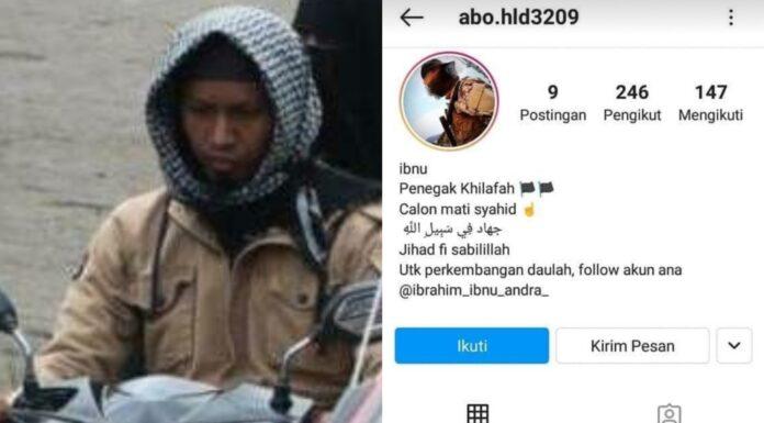 Ada Tulisan 'Calon Mati Syahid', Akun Instagram Diduga Pelaku Bom Gereja Katedral Makassar Bikin Geger Warganet