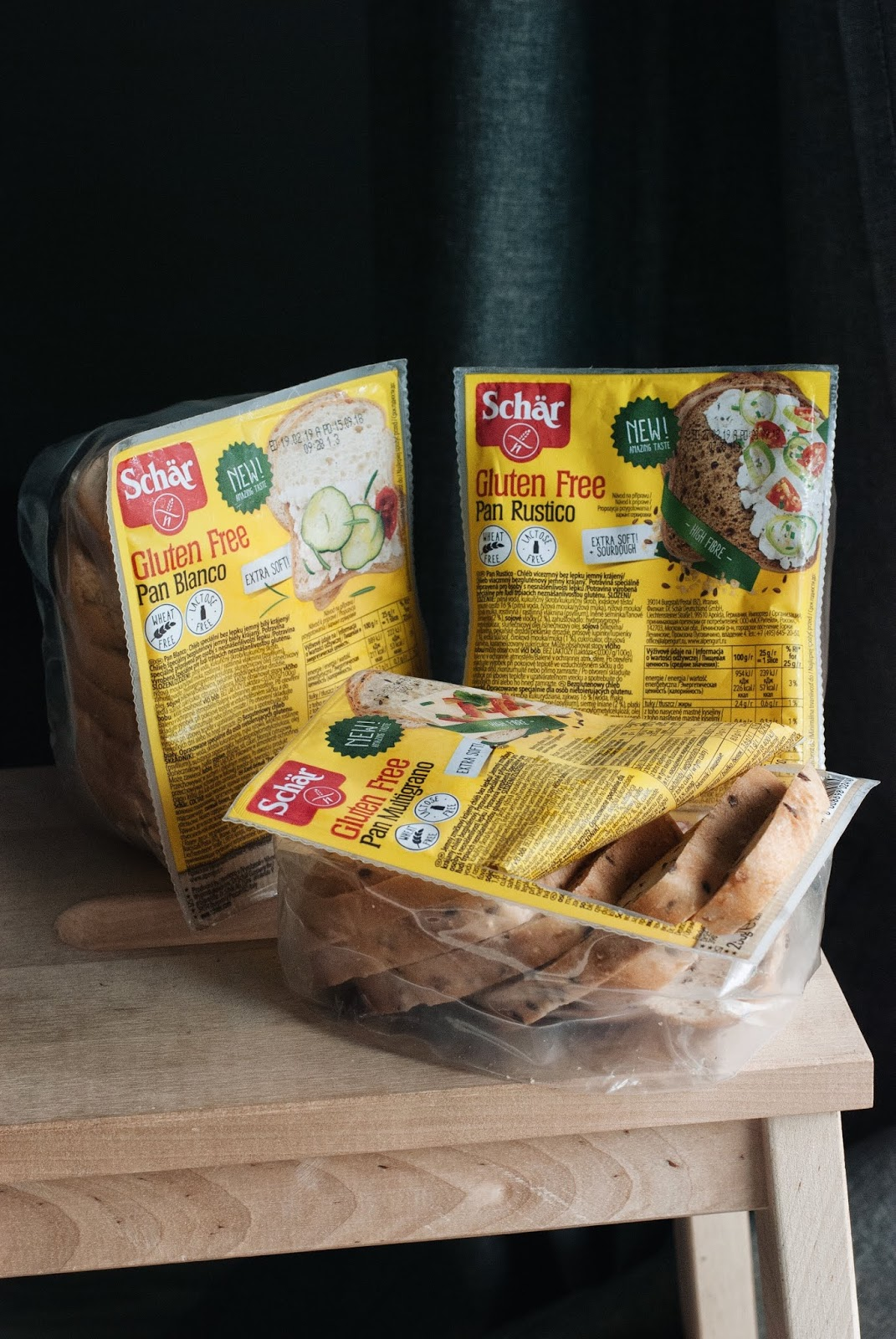 Chleby bezglutenowe Schar