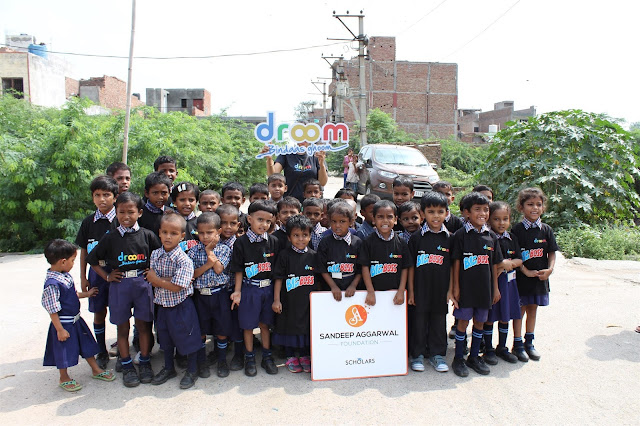 Education for All: Sandeep Aggarwal Foundation's Unique campaign for underprivilege children supported by Droom