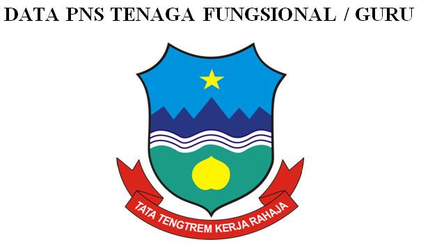 Format Data PNS Tenaga Fungsional Guru untuk Berkas Akreditasi Sekolah SD-SMP-SMA