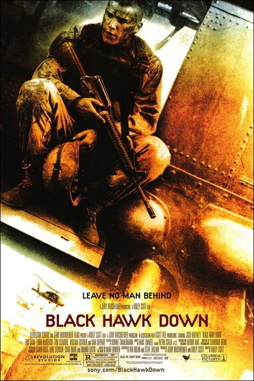 Download Black Hawk Down (2001) Full Movie in Hindi Dual Audio BluRay 720p [922MB]