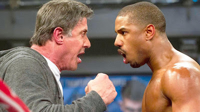 Sylvester Stallone & michael b jordan creed 2 movie images