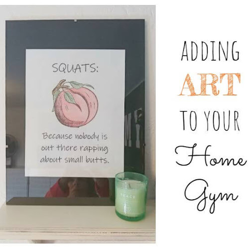 Adding Art to Your Home Gym
