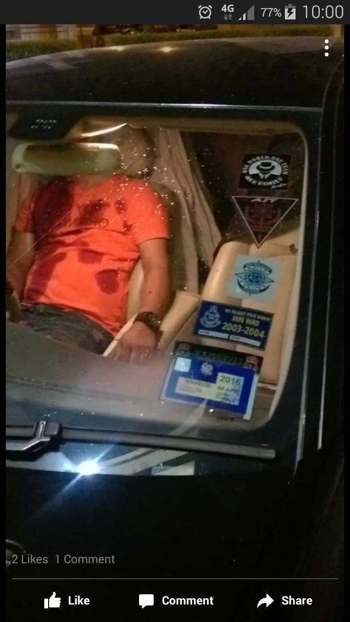 Lelaki Amuk JPJ Mati Di Tembak Dalam Kereta