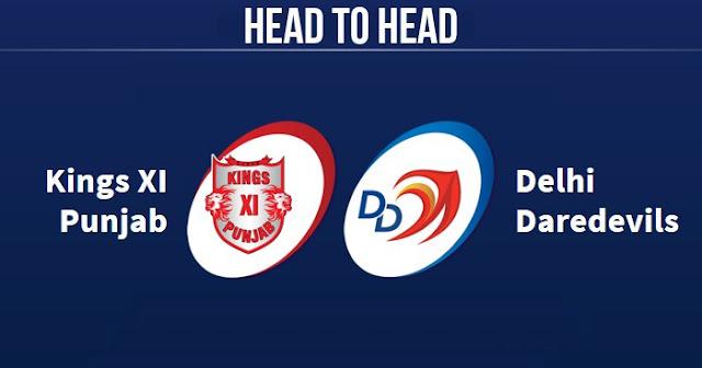 KXIP vs DD Head to Head: DD vs KXIP Head to Head IPL Records: IPL 2018