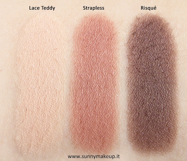 Swatch Too Faced - Natural Matte Collection: Swatches e review della nuova palette di ombretti opachi