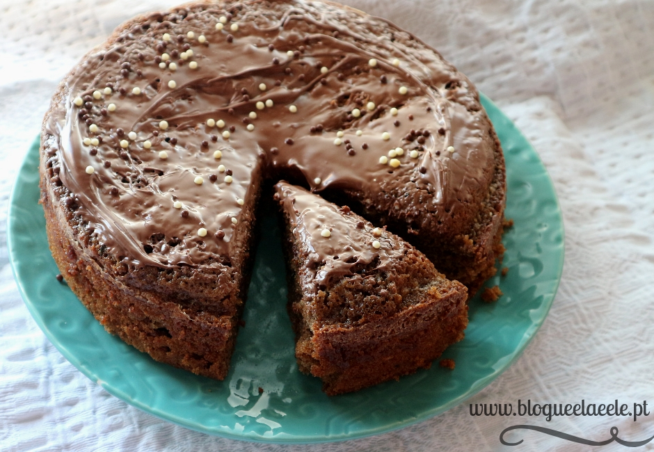 bolo de courgette + chocolate+ bolo de legume + cacau + receita + Filipa Gomes+ 24kitchen + blogue português de casal + pedro e telma + ela e ele