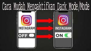 Cara Mudah Mengaktifkan Dark Mode/Mode Gelap untuk Instagram 1