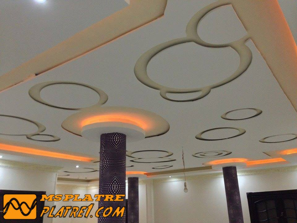 Plafond platre 2017 gascity for for Decoration de platre marocain