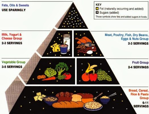 Healthy Intuitions: Are You Unhealthy Because Of Your Diet? Unhealthy Food Pyramid