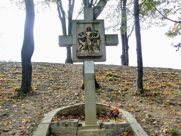 Гошевский монастырь. Крестная дорога
