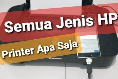 Cara Print Lewat Handphone