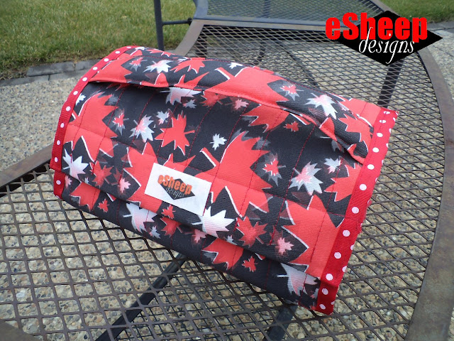 Travel Toiletry Tote by eSheep Designs